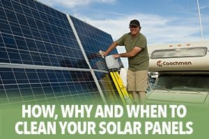 How, Why and When to clean your solar panels