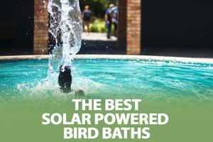 best solar powered bird baths